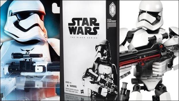 Revelan las primeras imágenes de los juguetes de Star Wars: The Force Awakens