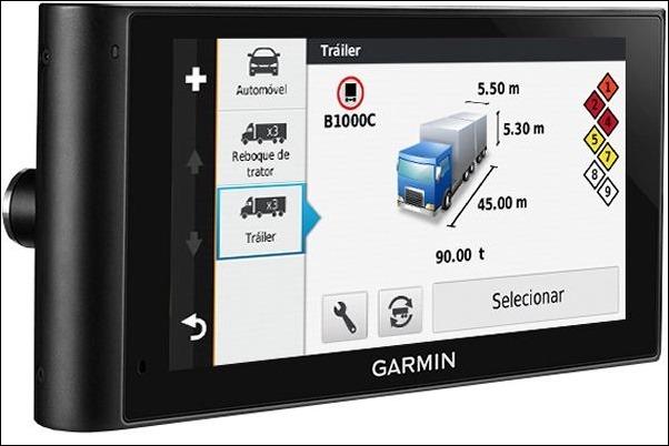Garmin dēzlCam LMT: el GPS para grandes vehículos con cámara integrado