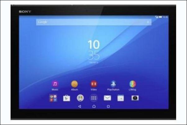 Sony Xperia Z4,el tablet de 10,1 pulgadas más ligero del mercado.