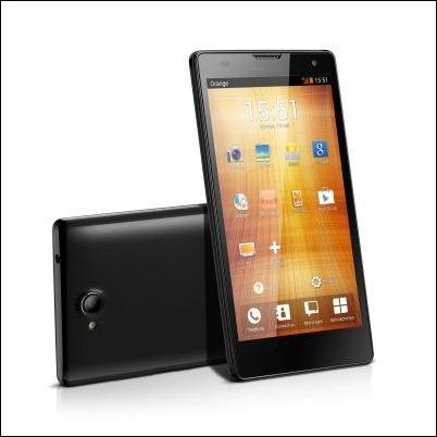 """Orange y Huawei lanzan el nuevo terminal 4G """"Orange Yumo"""" con pantalla de 5"""""""