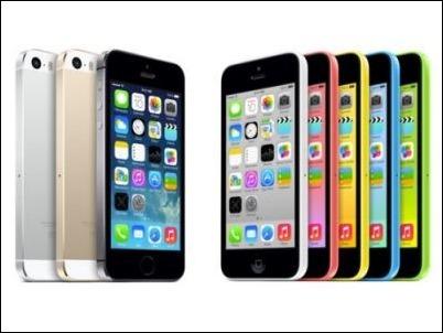 El iPhone 5S el más vendido en el primer trimesre del 2014