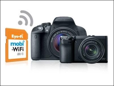 Eyefi anuncia su compatibilidad con las cámaras WiFi